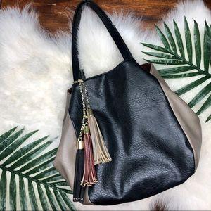 Big Buddha hobo/tote style vegan leather bag